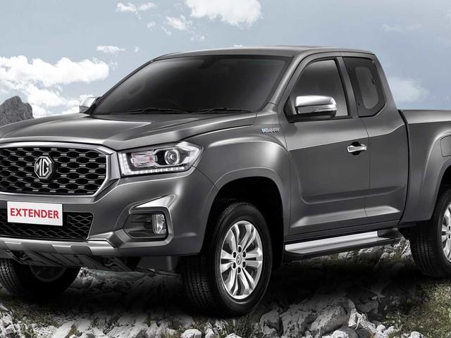 MG Extender pickup truck revealed