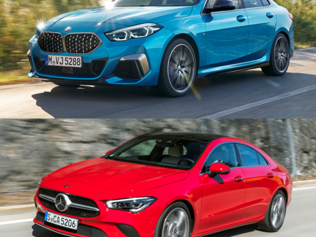 Photo Comparison: BMW 2 Series Gran Coupé (F44) fights back at the Mercedes-Benz CLA