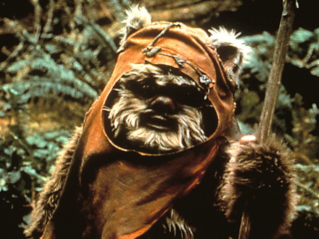 Star Wars: Behind-the-scenes image of an Ewok without fur leaves Star Wars fans terrified