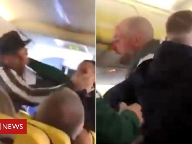 Fight erupts on Ryanair flight from Glasgow to Tenerife