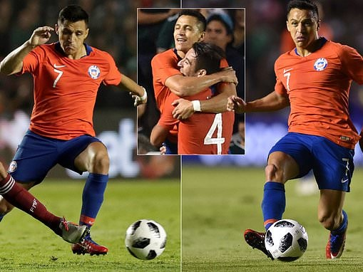 Alexis Sanchez returns to Chile national team for first time in SEVEN months