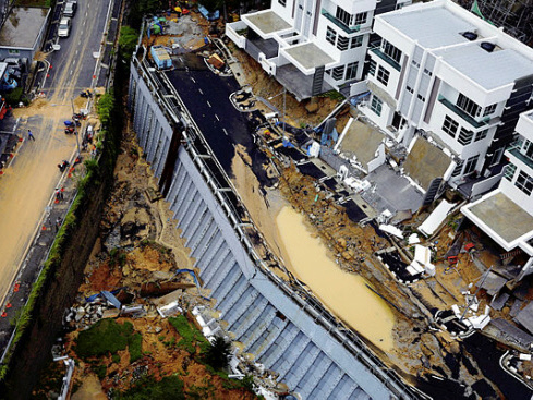 Proper check, protection needed for collapsed retaining wall in Tanjung Bungah