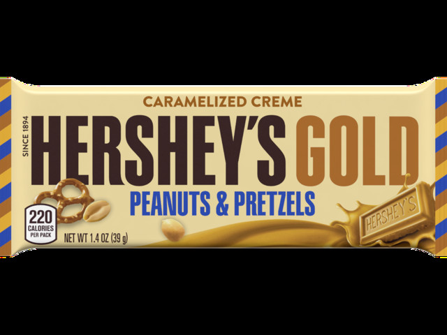 After 100 years, Hershey's decided to take a new product into a golden direction