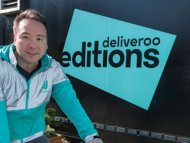 The CEO of Deliveroo said the only thing he can cook is an omelette