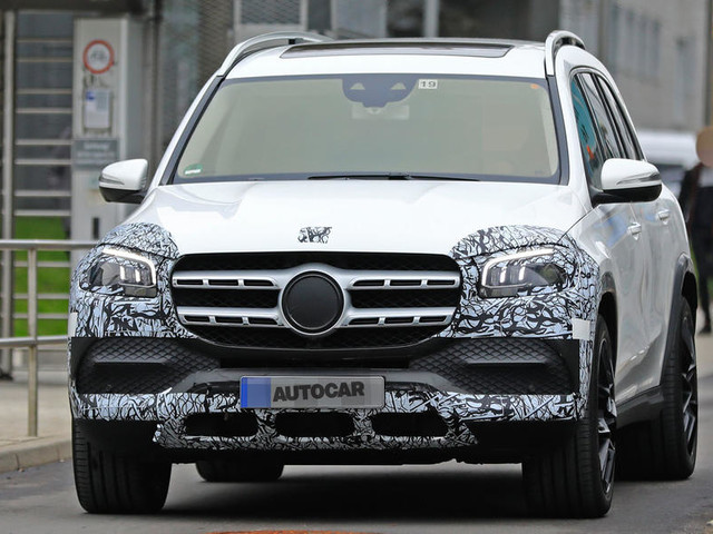 New Mercedes-Maybach GLS spotted before New York debut