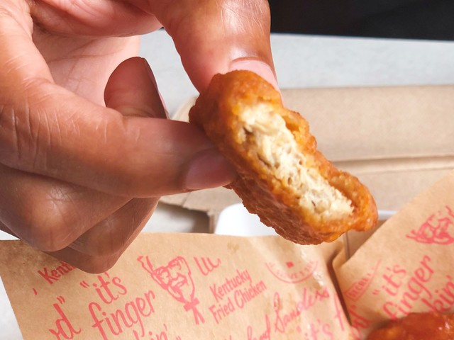 KFC now has meatless 'chicken' made from pea protein, but a nutritionist said it's not much healthier than the original