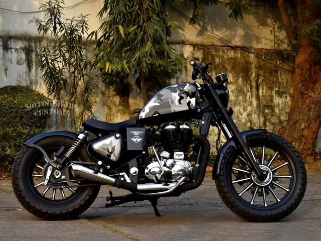 Check Out This Lovely Custom Royal Enfield Classic 350-Based Bobber