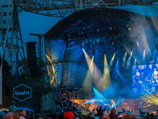 New Order at Bluedot festival - Sunday review and pictures