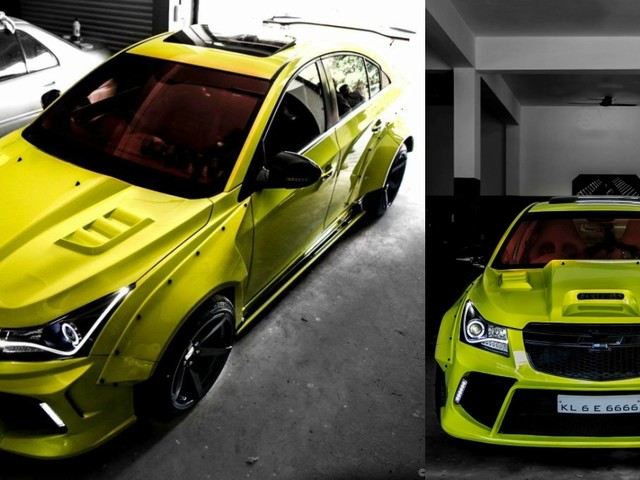 Modified Chevrolet Cruze 'Hyper-Wide' Is Probably The Country's Wildest