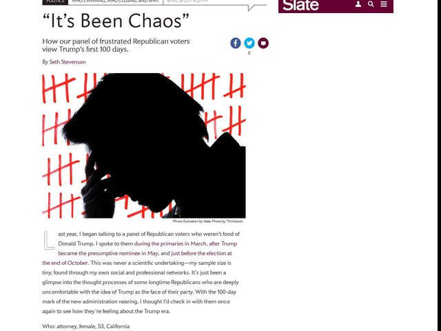 """It's Been Chaos"""