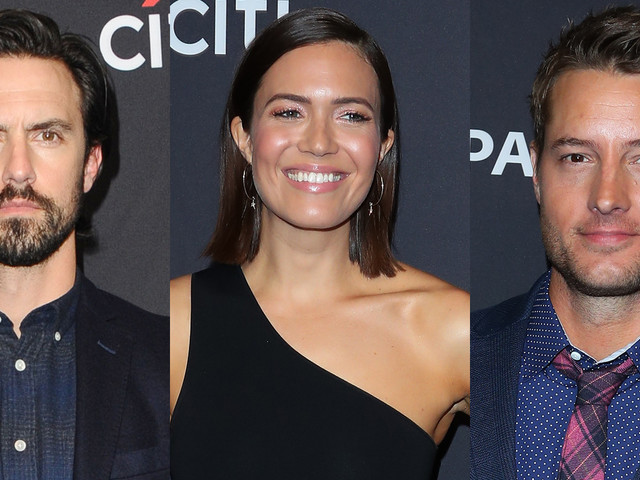 Milo Ventimiglia, Mandy Moore, & Justin Hartley Promote 'This Is Us' at PaleyFest 2019!