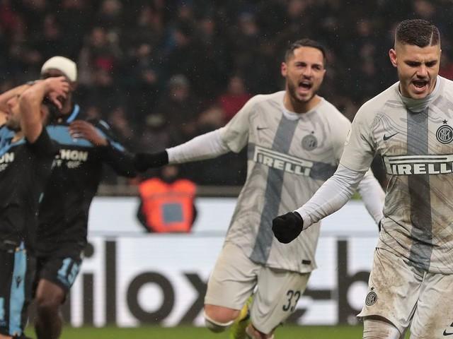 The precarious position for Inter Milan