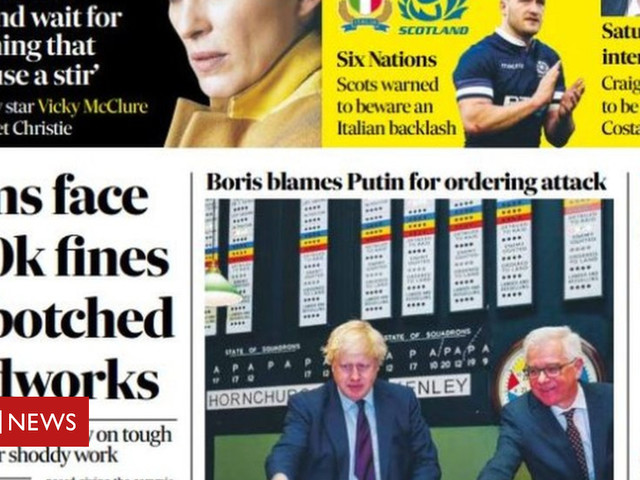 The papers: Firms face £100k roadworks fines