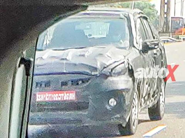 2021 Maruti Celerio To Get SUVish Stance – Front Spied For First Time