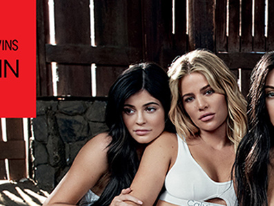 Kylie Jenner Hides Baby Bump in Calvin Klein Campaign with the Kardashians