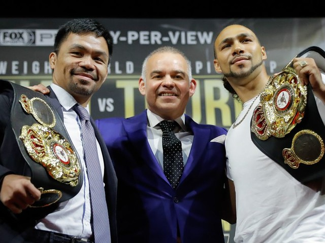 Live results and round-by-round coverage of Pacquiao vs. Thurman