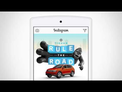 Virtual City Scavenger Hunts - Volkswagen's Rule the Road Campaign Engages Instagram Users (TrendHunter.com)