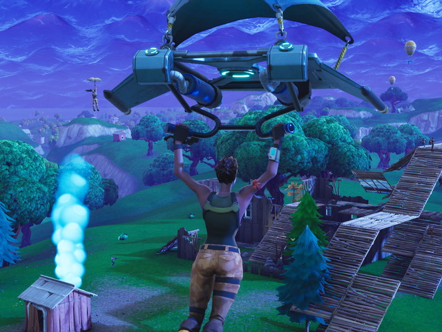 Fortnite's new 50v50 mode takes to the skies