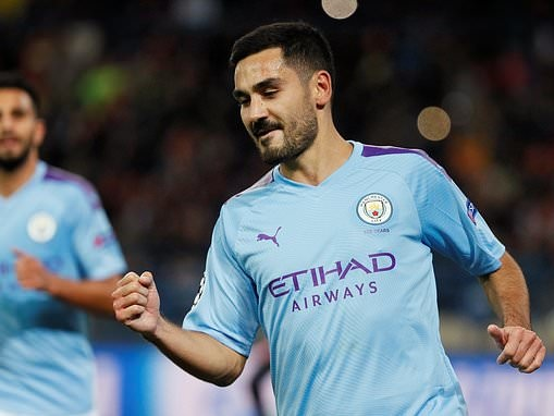 Ilkay Gundogan hails Manchester City for bouncing back from shock Norwich defeat