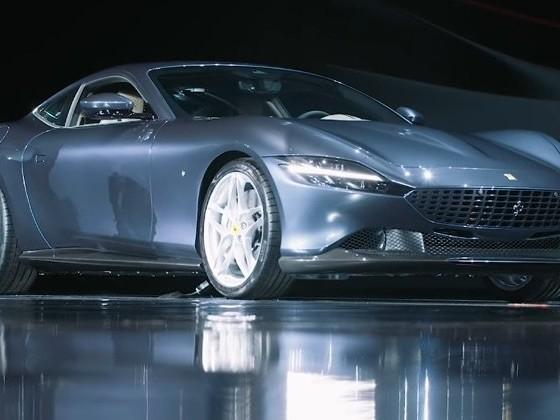 New Ferrari Roma shown off on video