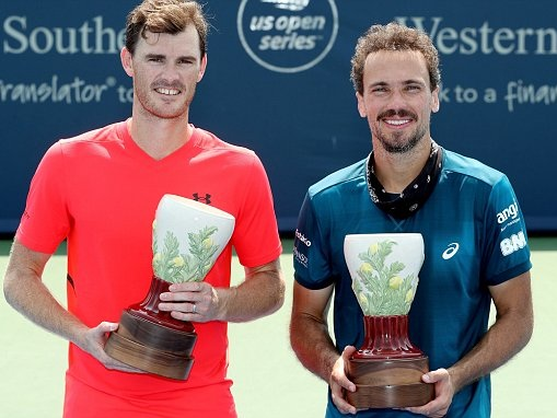 Jamie Murray seals his second doubles title this month at Cincinnati Masters