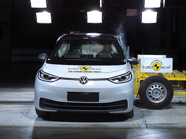 Volkswagen ID 3 scores top marks in Euro NCAP tests