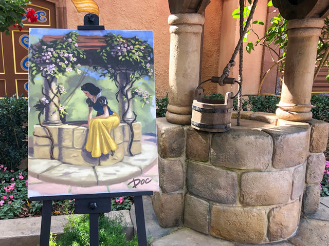 Beloved Disney Characters Get Into the Artistic Spirit at Epcot's Festival of the Arts!