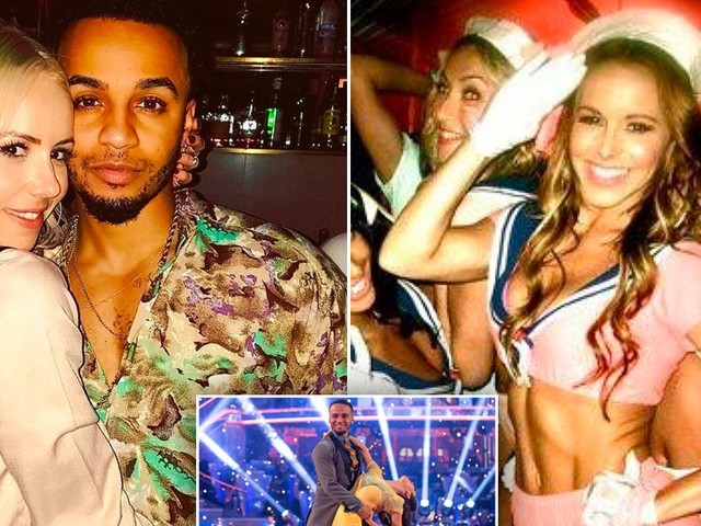 """Aston Merrygold reveals his lothario days """"are over"""" as he focuses on keeping pregnant girlfriend happy and Strictly Come Dancing"""