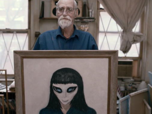 You'll never see a more touching film about a 72-year-old alien experiencer