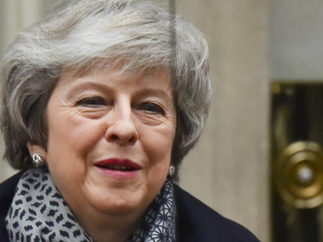 Theresa May Survives No-Confidence Vote In Her Government