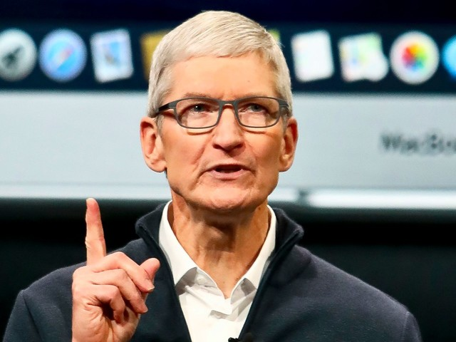Tim Cook's pitch to Trump that Apple will lose the edge to Samsung because of tariffs makes no sense