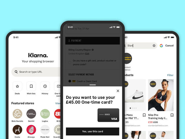 Divvied Payment Shopping Apps - Klarna Unveils its Buy Now, Pay Later Shopping App for UK Consumers (TrendHunter.com)