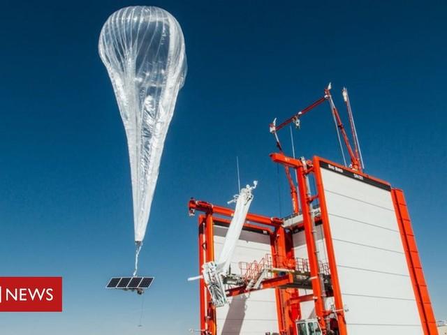 Google says goodbye to giant internet balloons idea