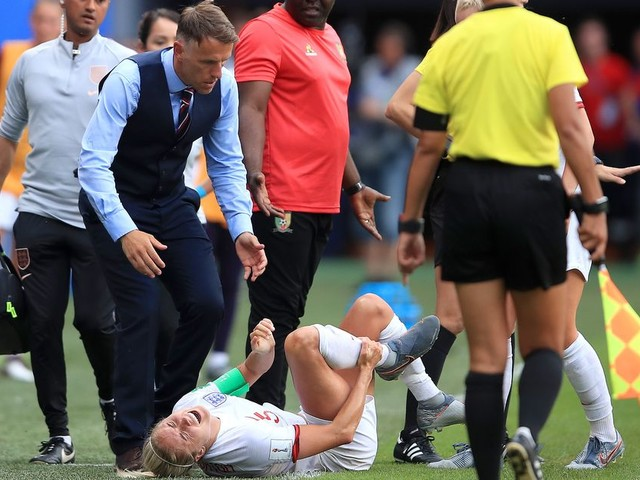 England manager Phil Neville issues injury update on Man City's Steph Houghton