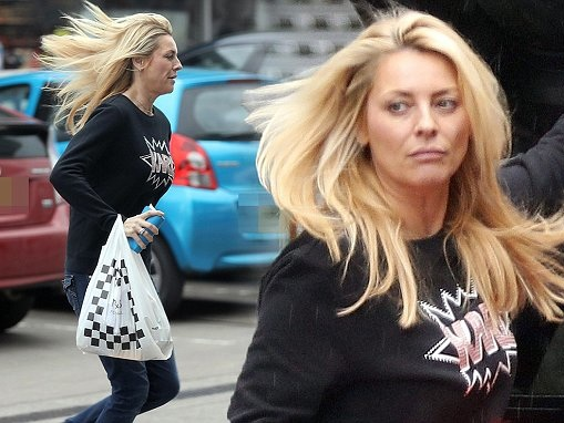 Tess Daly, 48, is worlds away from her Strictly glamour