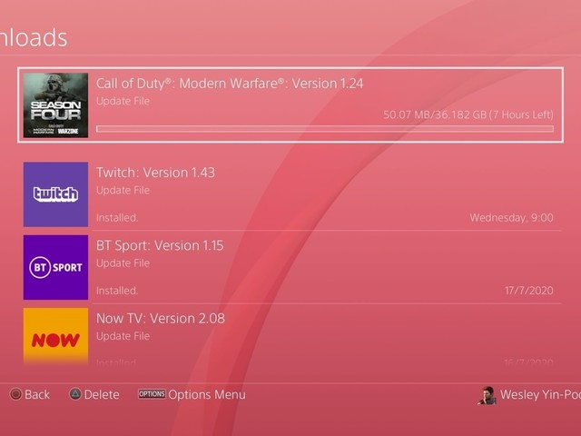 You can pre-download Call of Duty: Modern Warfare and Warzone's massive 36GB Season 5 update - on PS4 only
