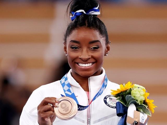 Simone Biles's Bronze-Medal Win Vaults NBC's Olympics Coverage Past 17 Million Viewers