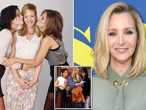 Lisa Kudrow reveals she felt like a 'MOUNTAIN of a woman' beside Jennifer Aniston and Courteney Cox