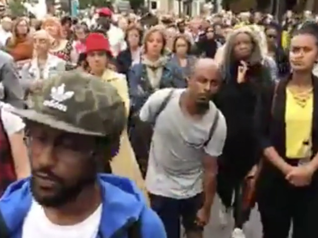 Grenfell Tower Fire: Silent Vigil Held To Remember Victims Two Months On