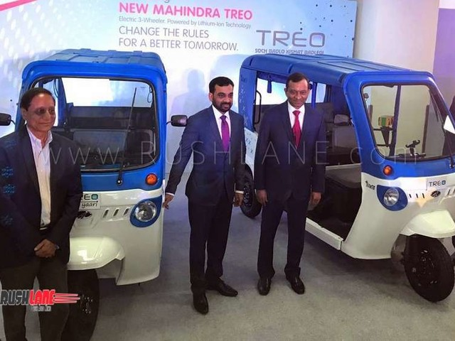 Mahindra Treo 3, 4 seater electric rickshaw launch price Rs 1.36 L, 2.22 L – Including FAME subsidy