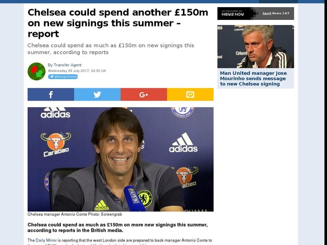 Chelsea could spend another £150m on new signings this summer – report