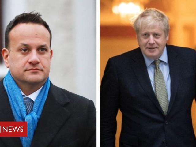 Stormont deal: Johnson and Varadkar visit Belfast to mark executive return