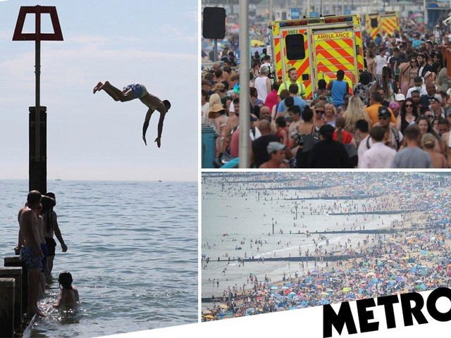 Hottest August day since 2003 as temperatures soar to 36.4C
