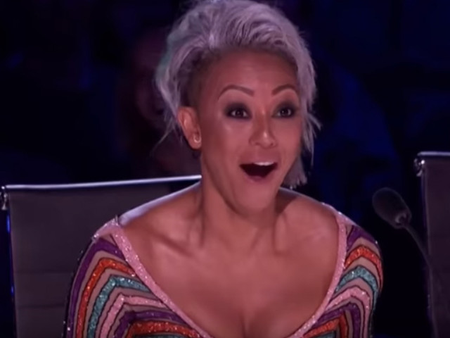 Mel B Throws Water at Simon Cowell, Walks Off 'America's Got Talent' Stage After Wedding Joke