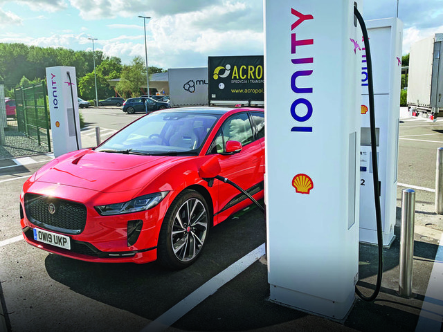 On a charge: Driving the Jaguar I-Pace from London to Frankfurt
