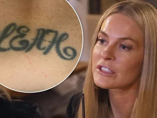 Real Housewives Of New York City: Leah McSweeney causes a tizzy with her 'tramp stamp' on lower back