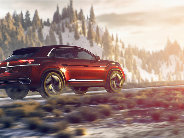 Volkswagen Atlas Cross Sport concept unveiled