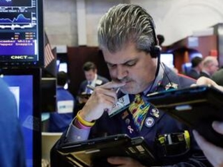 US stocks broadly lower in afternoon trading; oil slides