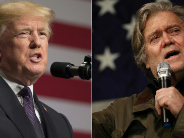 Trump Tower meeting with Russians 'treasonous': Bannon