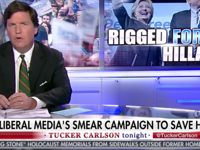 CNN dismisses Tucker Carlson's claim that management is directing hosts to discredit former DNC chair Donna Brazile